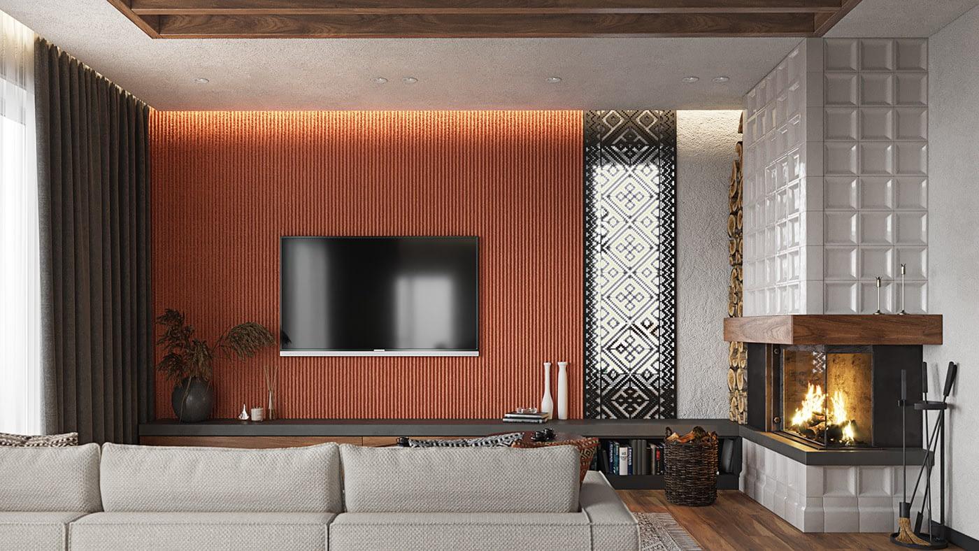 проект интерьера квартиры в ЖК Терракота