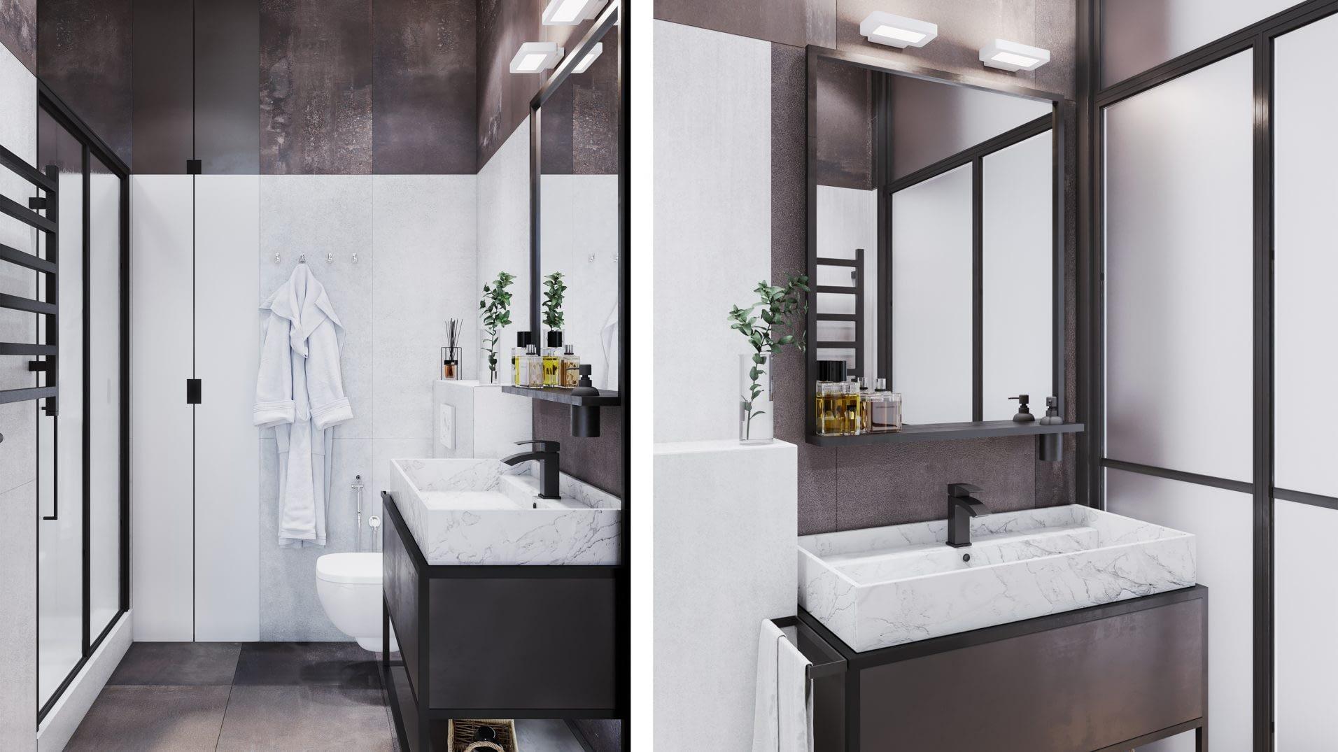 дизайн проект квартиры в ЖК Централ Парк от Lavrov Design
