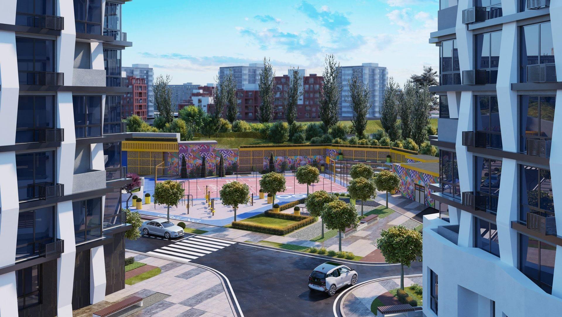 проект ЖК Сити Хаб
