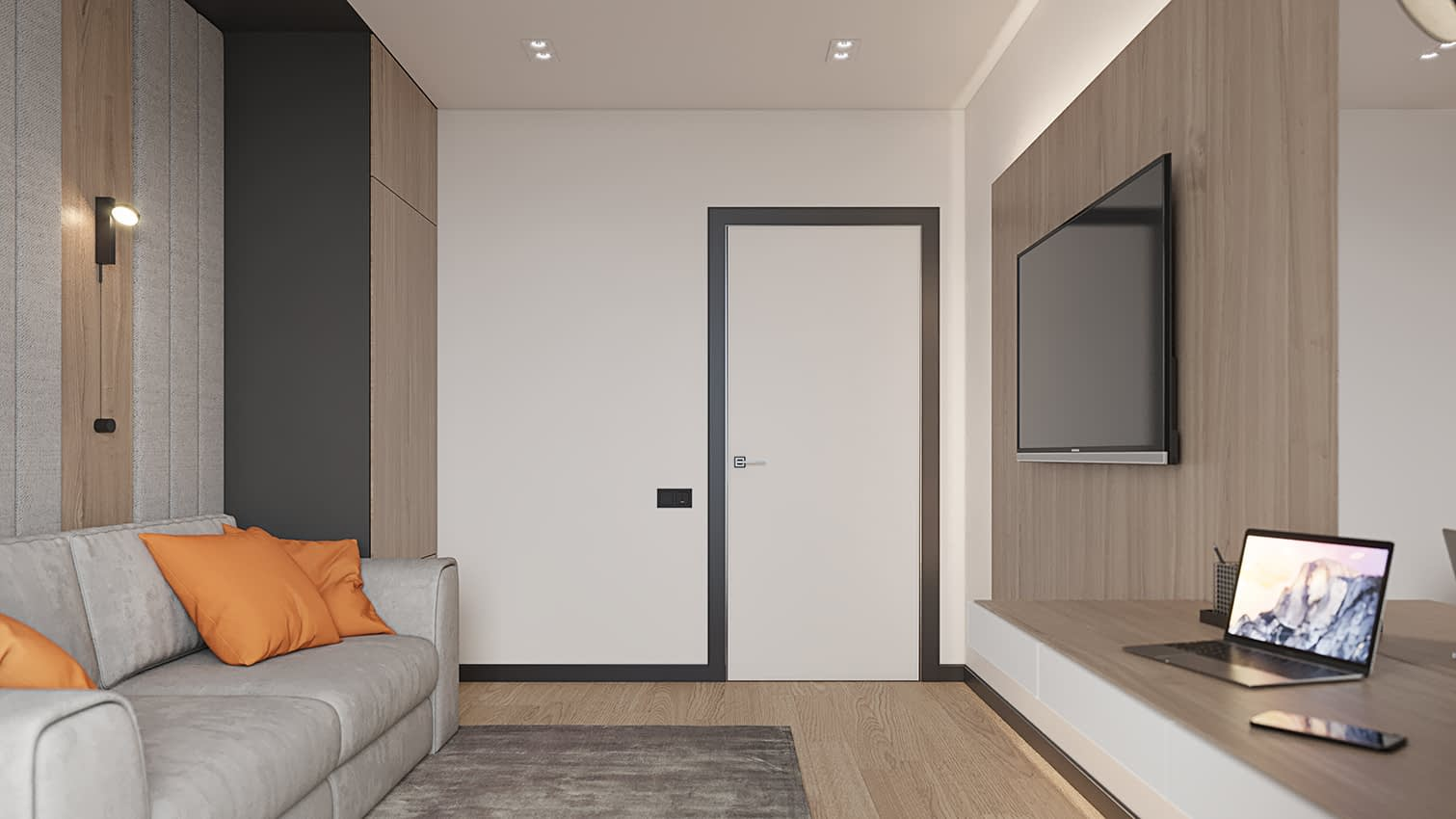 проект комнаты в квартире в ЖК Владимирский