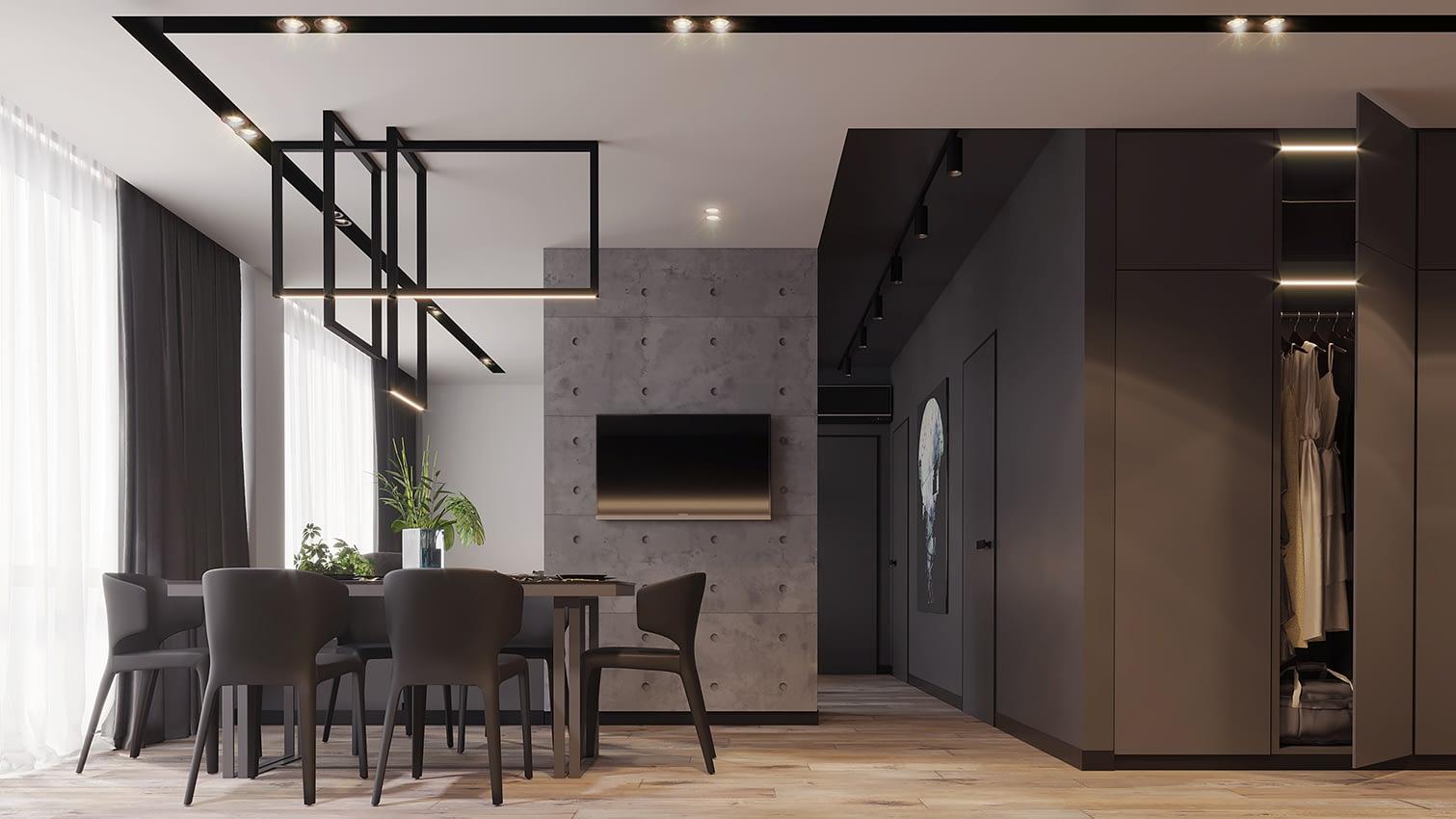 проект комнаты квартиры в ЖК Славутич