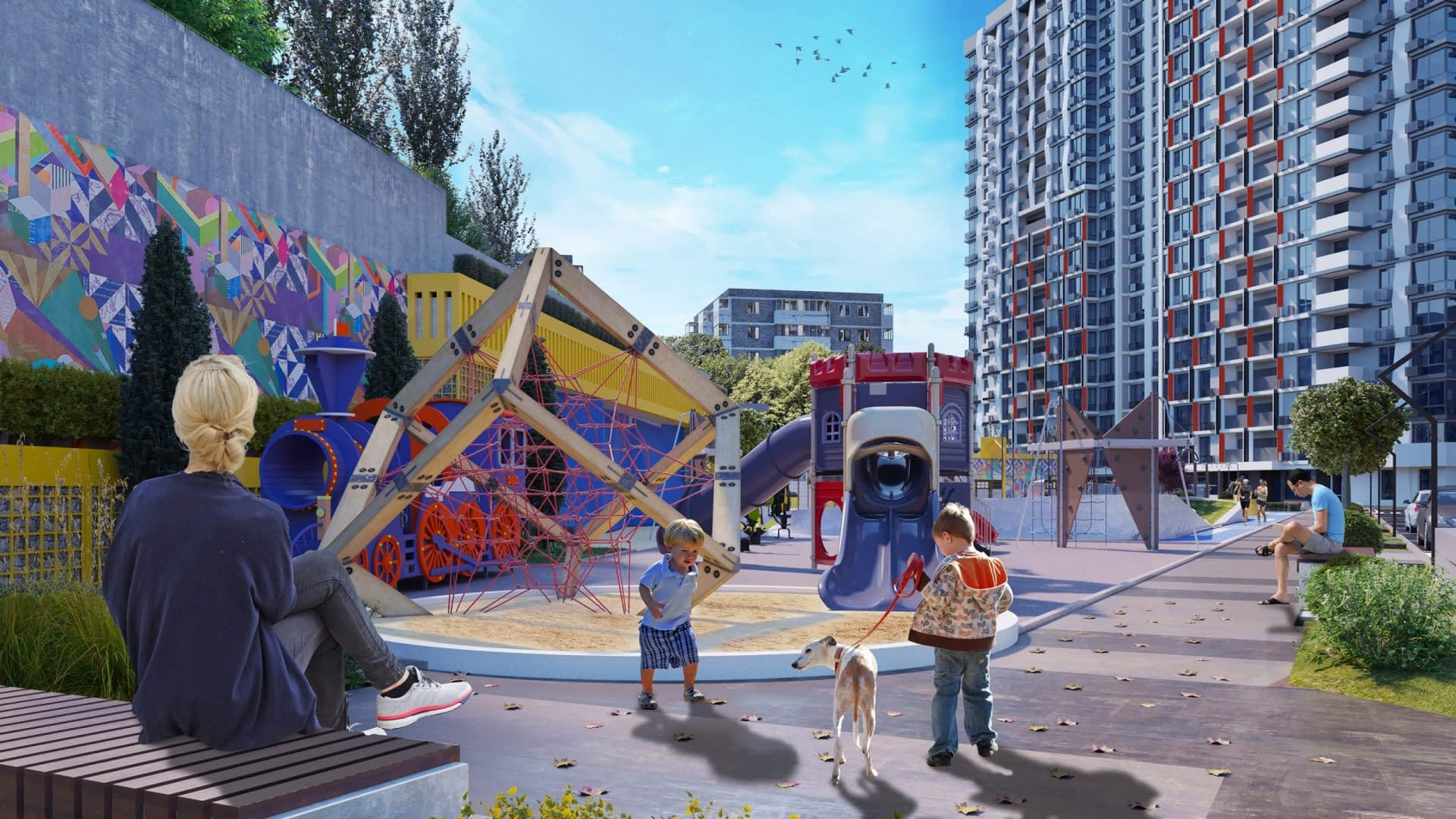 проект Жилищного Комплекса Сити Хаб