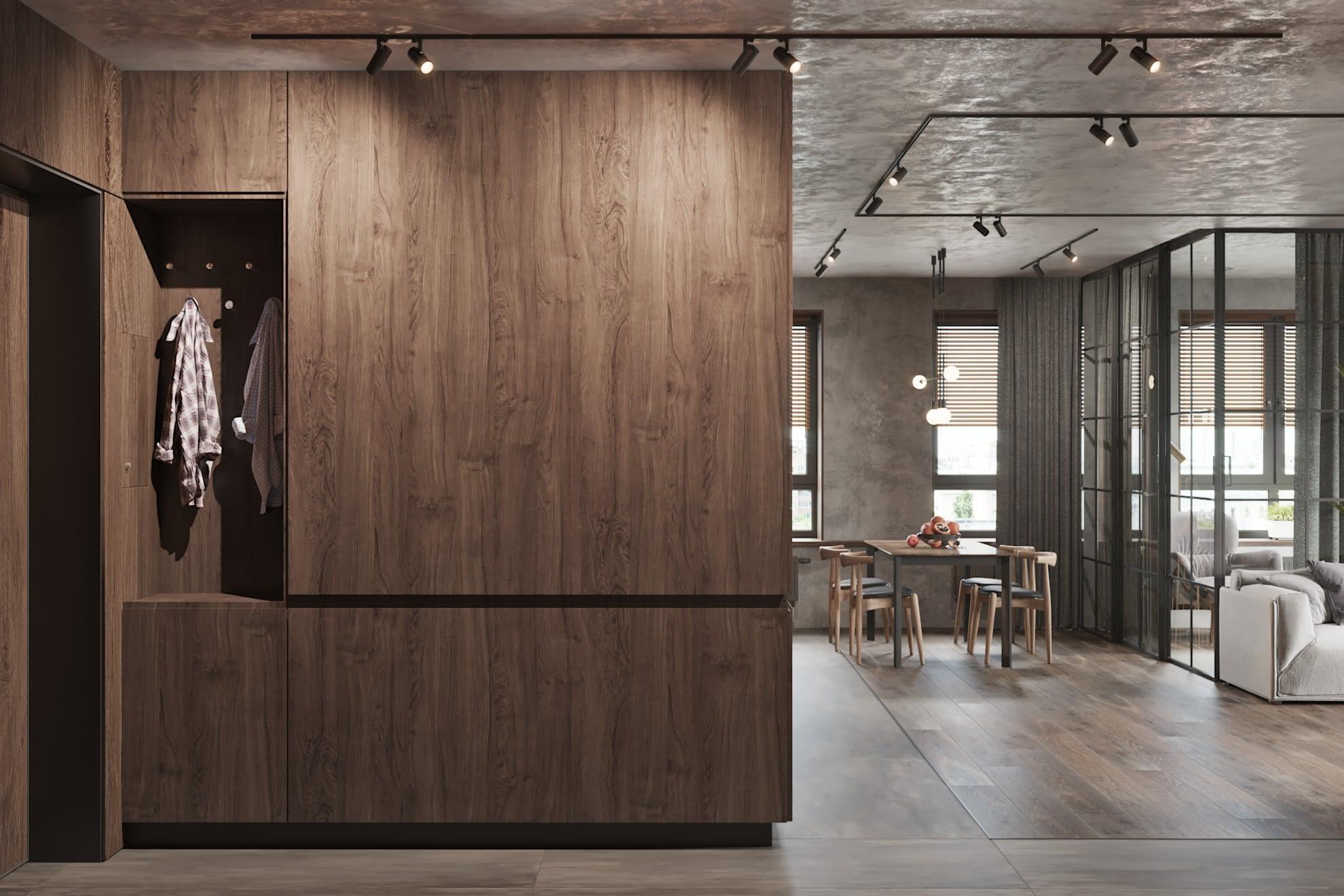 дизайн проект квартиры в ЖК Хоум