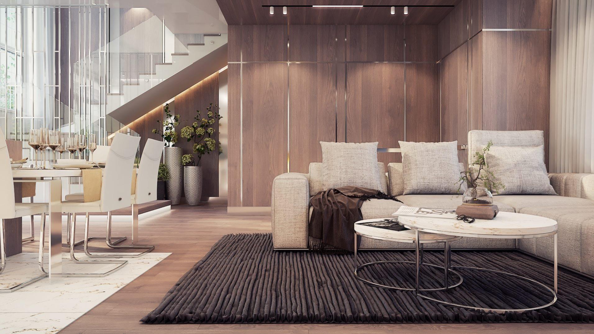 дизайн проект интерьера таунхауса в Ирпене от Lavrov Design