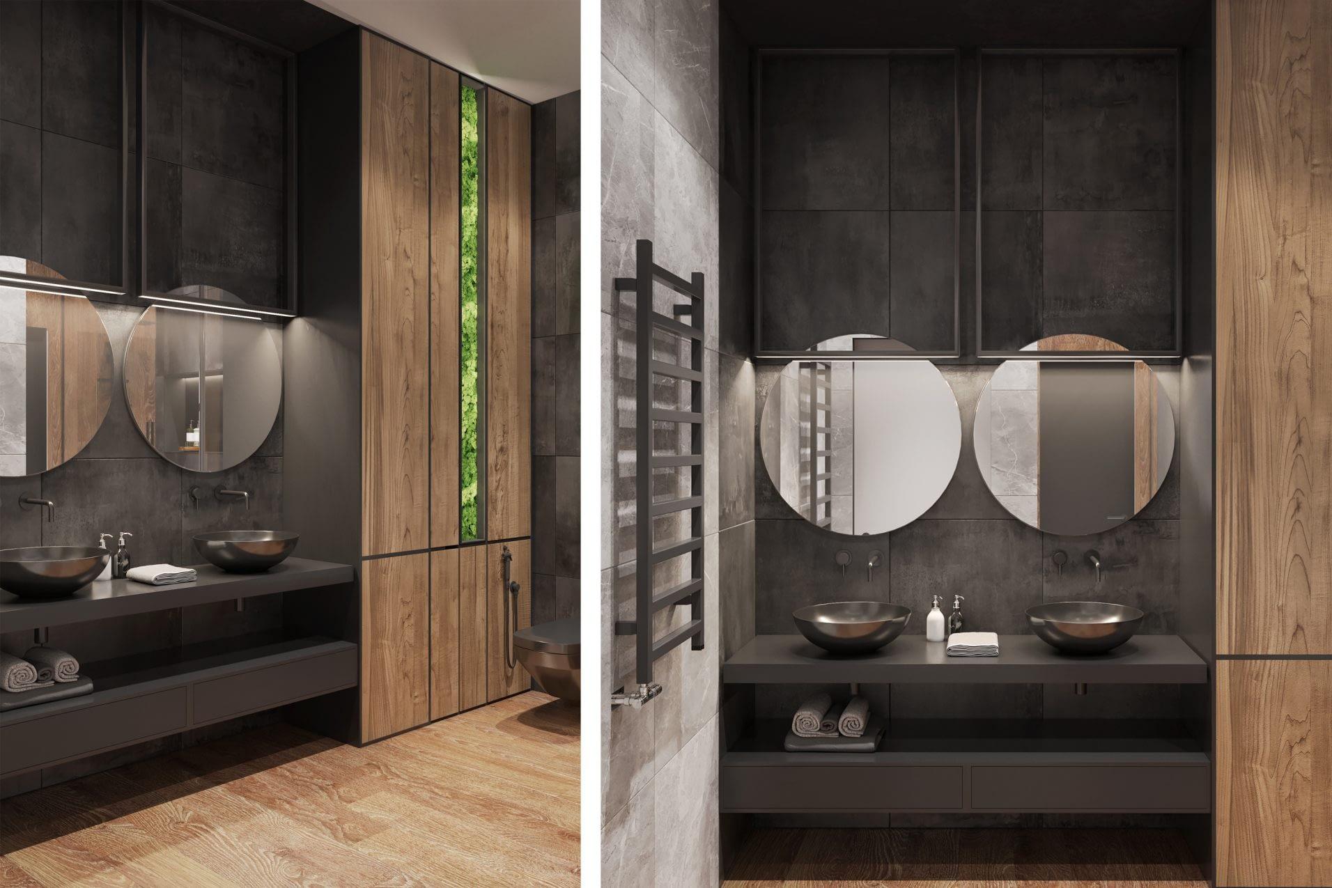 дизайн проект санузла от Lavrov Design