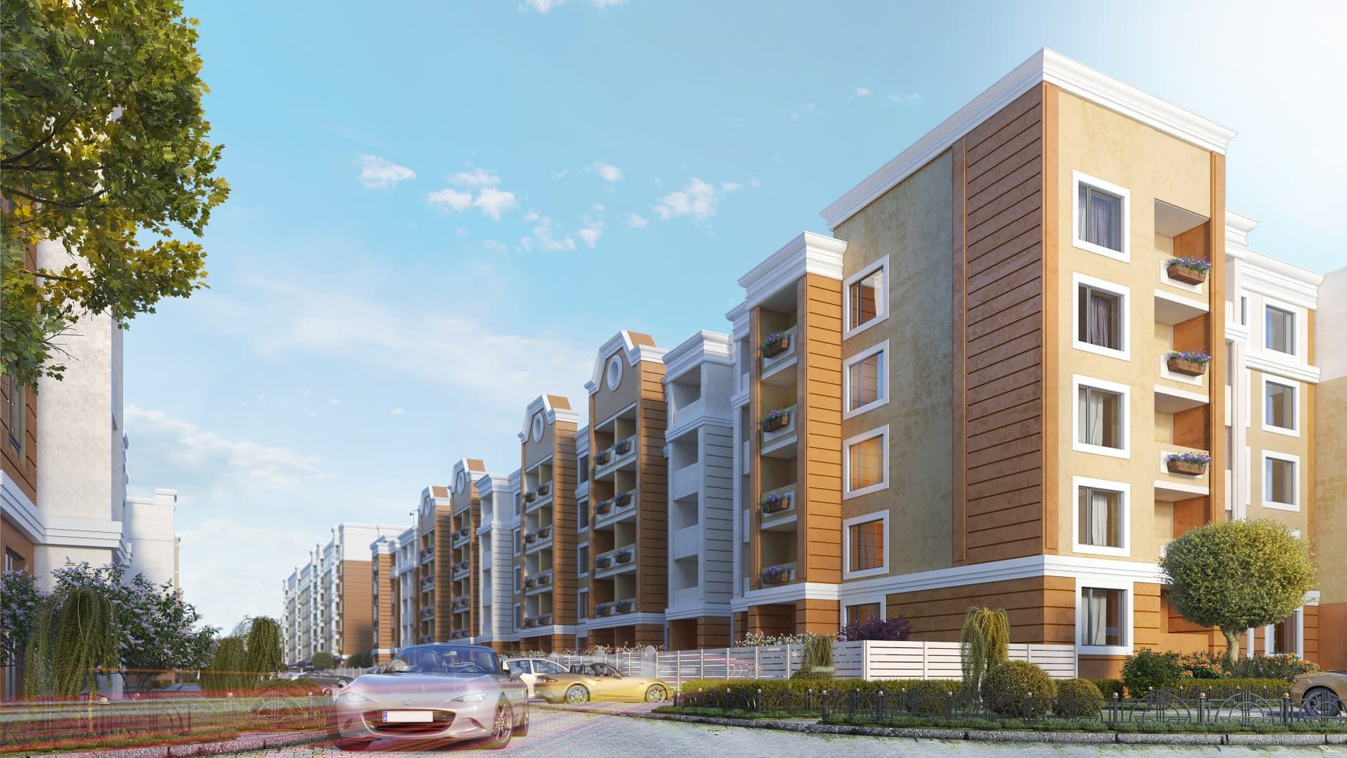 дизайн проект ЖК Петровский квартал от Lavrov Design