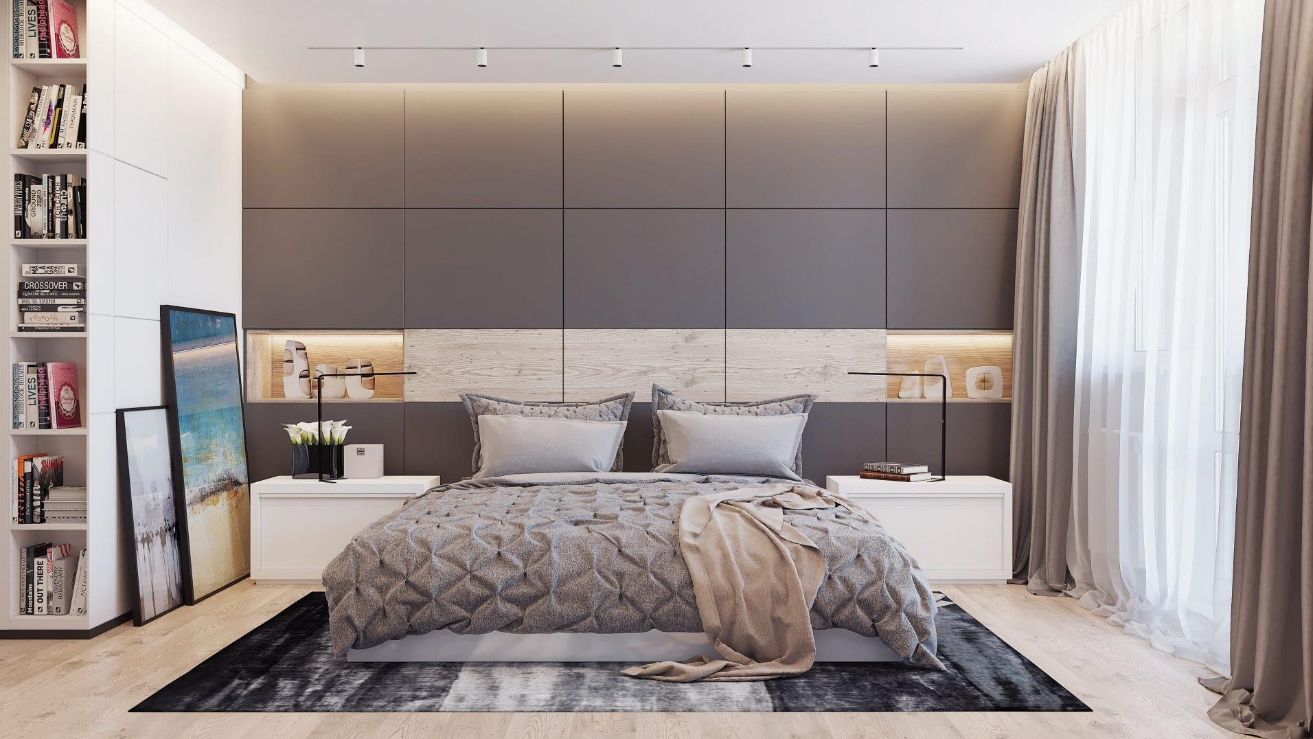 дизайн проект спральни в квартире от Lavrov Design
