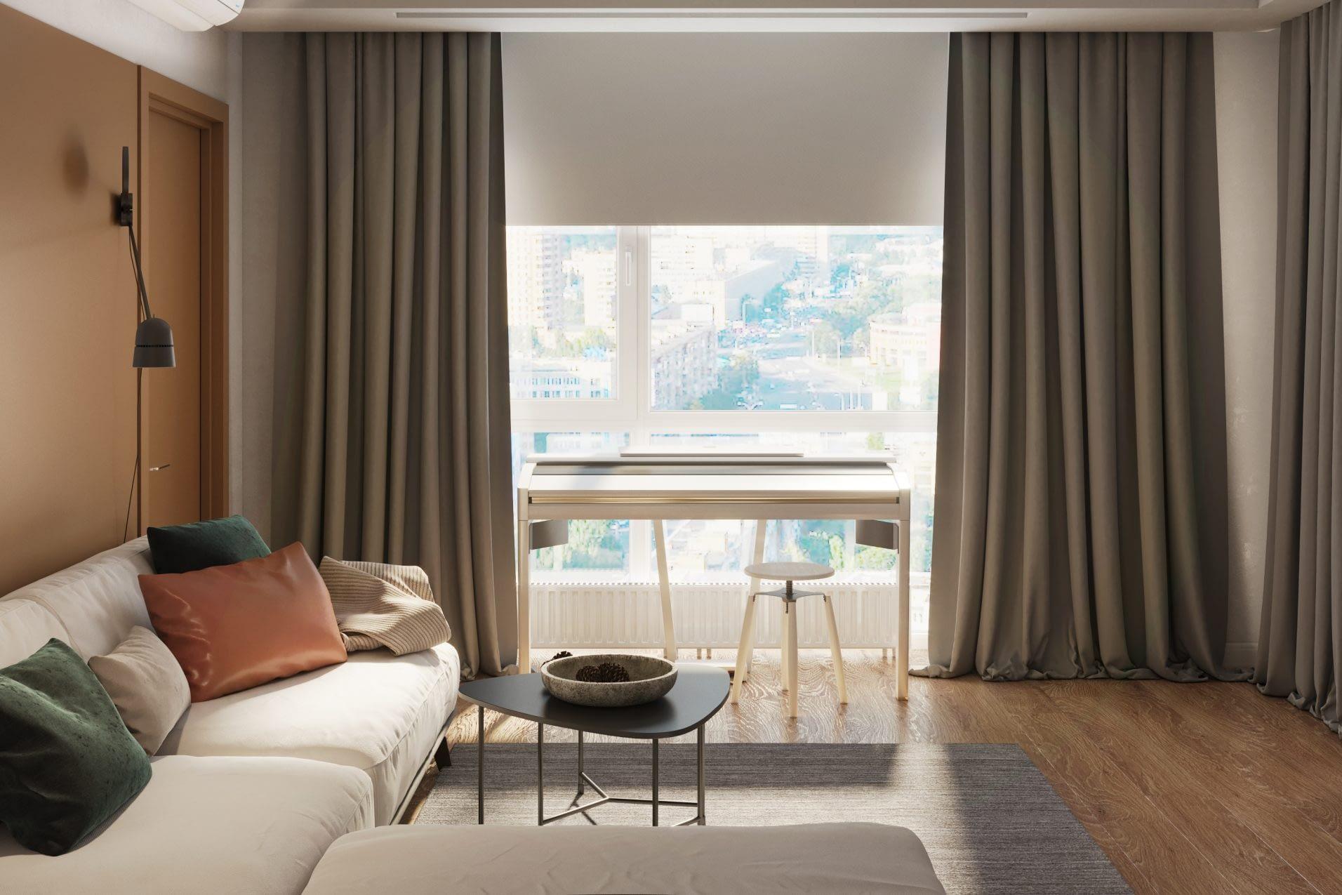 дизайн проект интерьера квартиры от Lavrov Design