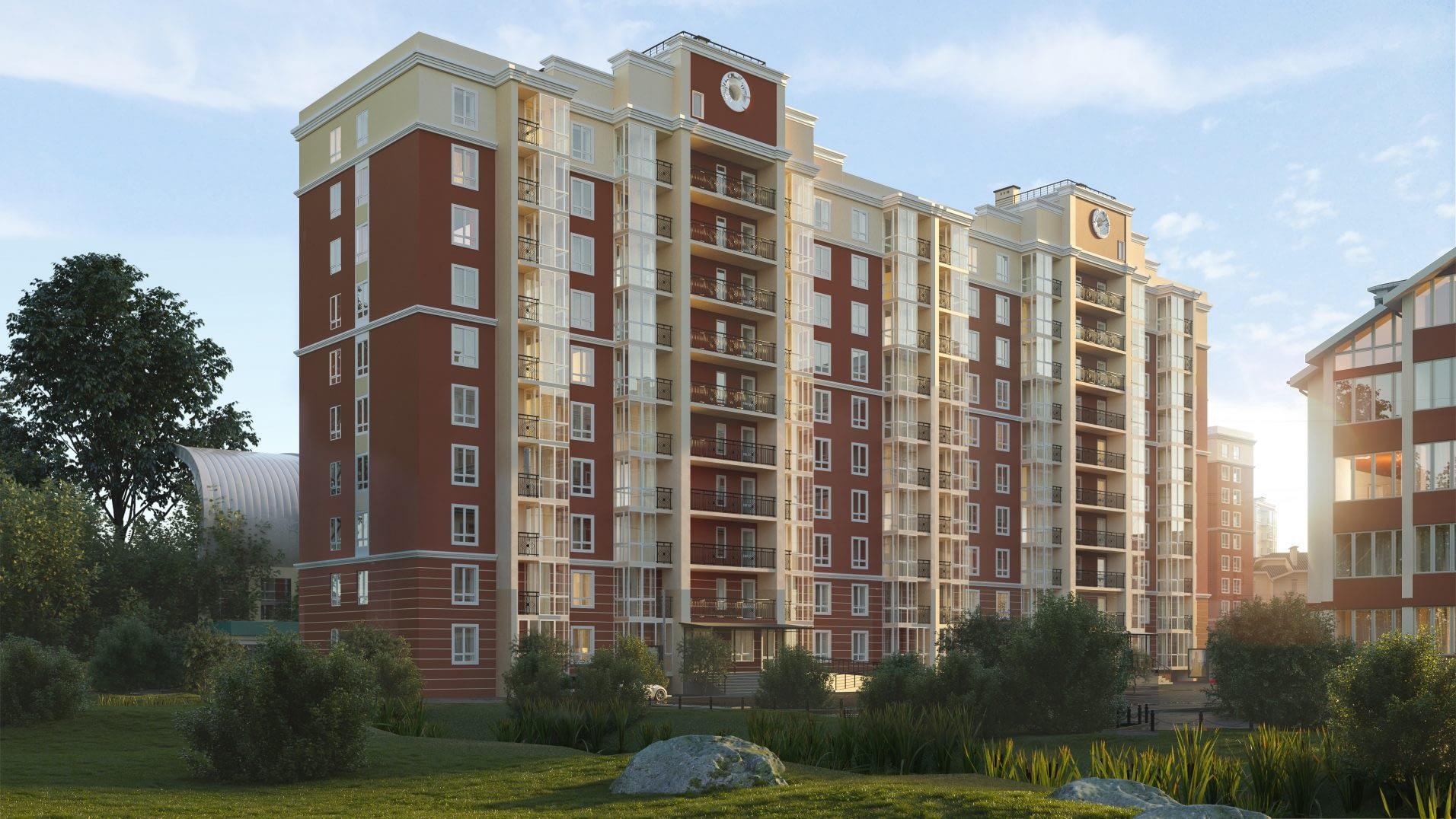 дизайн проект ЖК Покровский от Lavrov Design