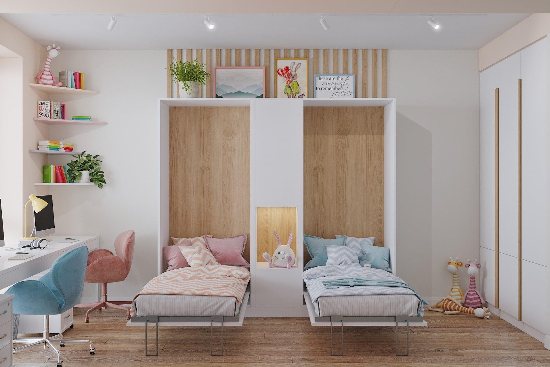 дизайн проект интерьера спальни квартиры от Lavrov Design
