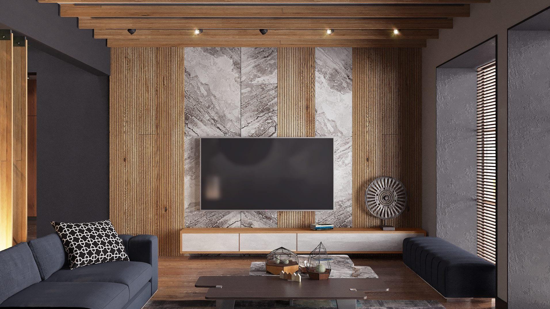 дизайн проект комнаты в частном доме в Киеве