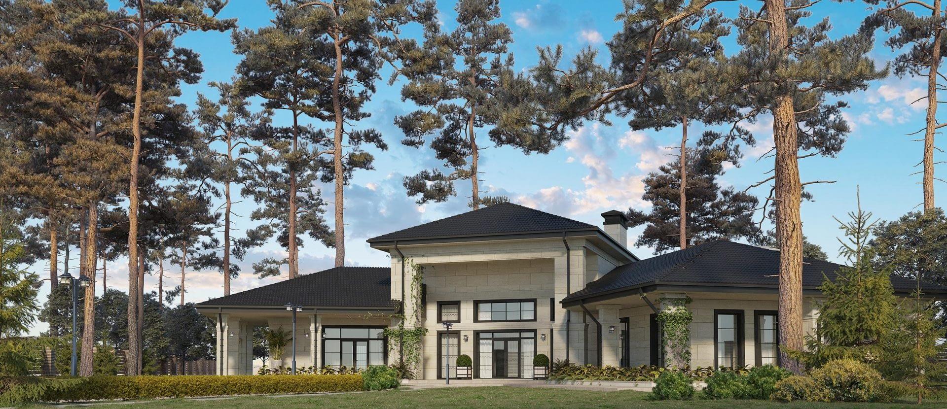 проект частного дома в Иванковичах