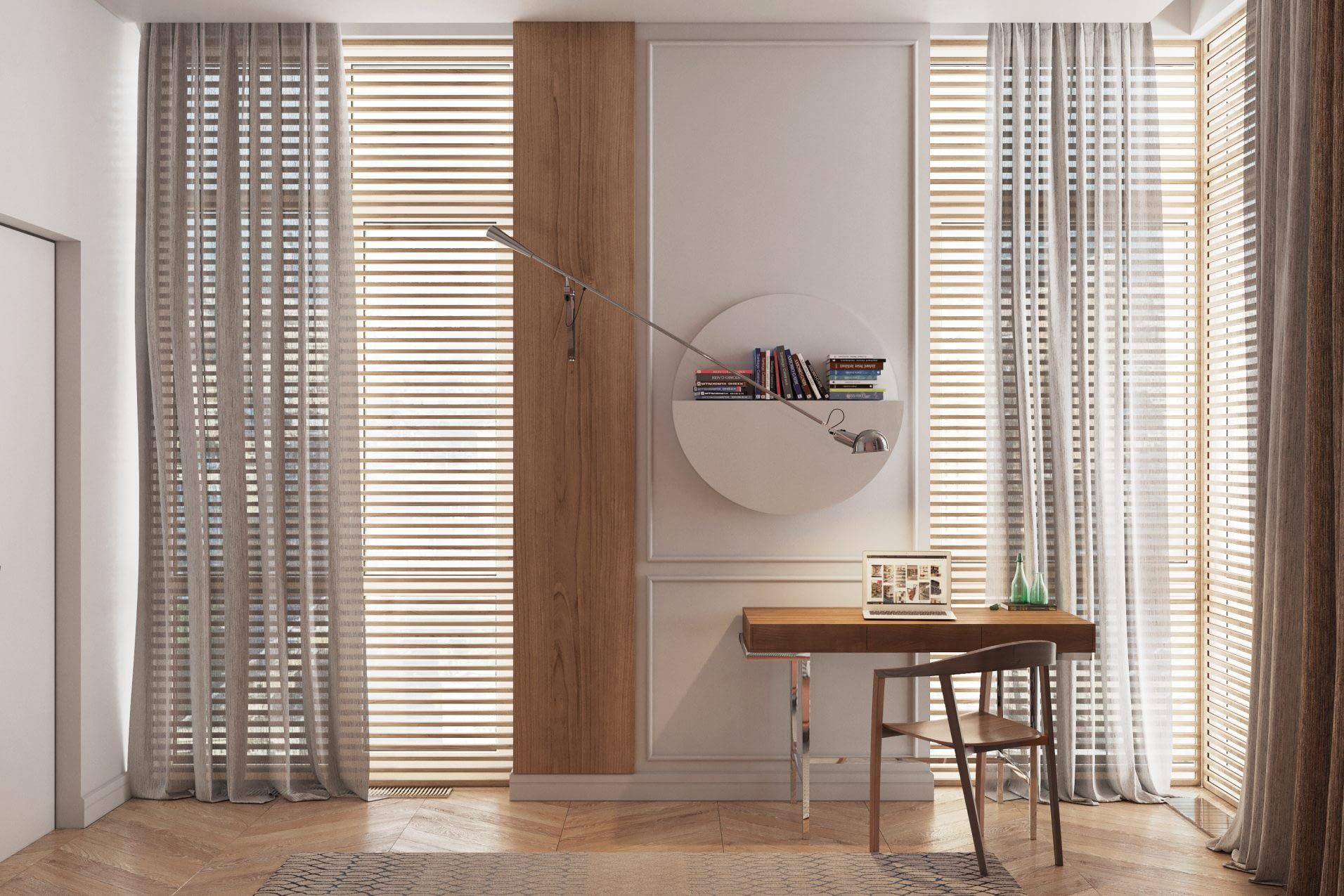 дизайн интерьера квартиры в ЖК Риверстоун