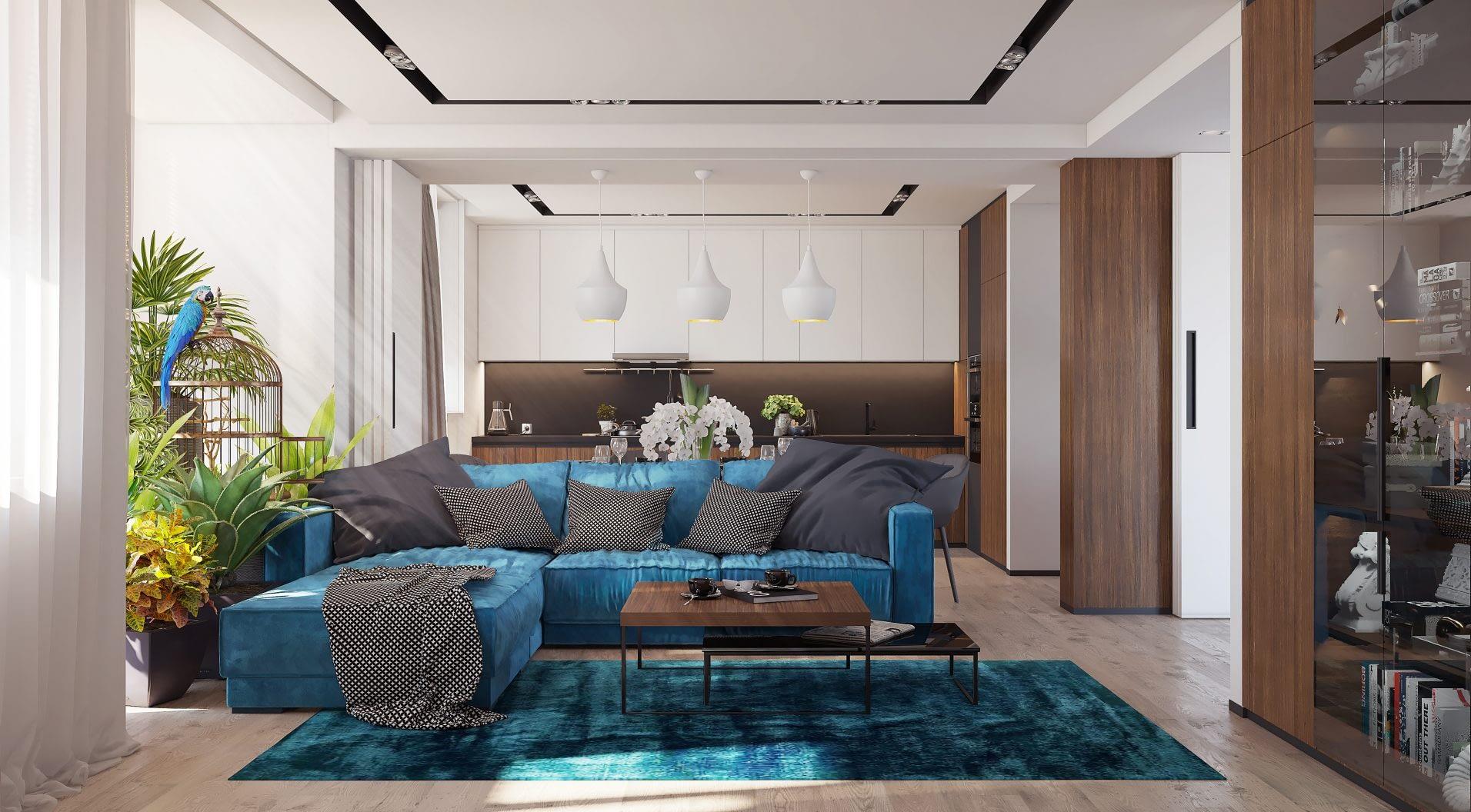 дизайн проект квартиры от Lavrov Design