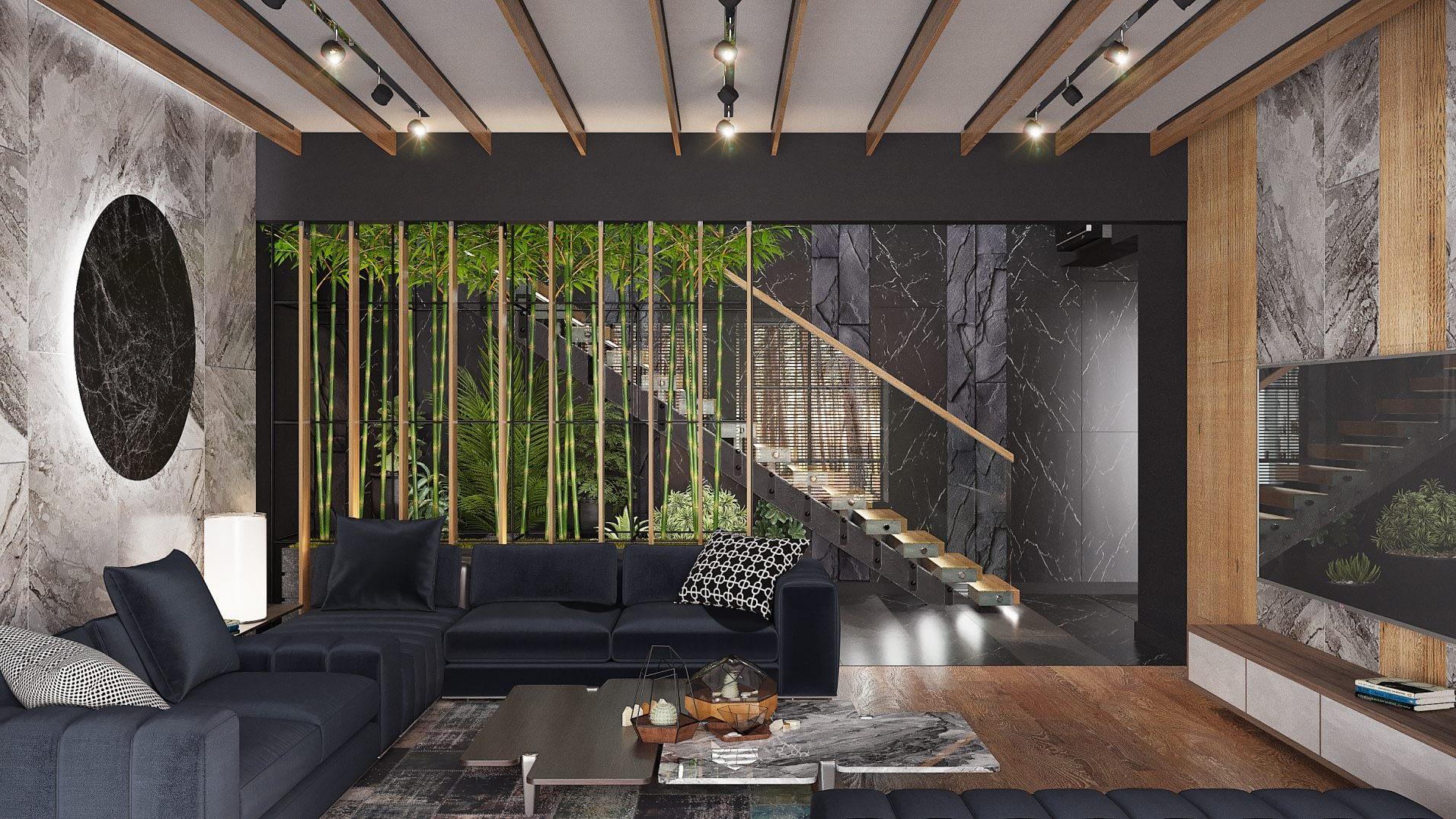дизайн проект интерьера частного дома в Киеве