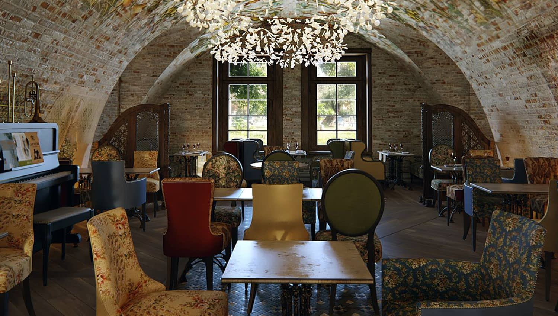 проект интерьера ресторана Гиви Рубинштейн