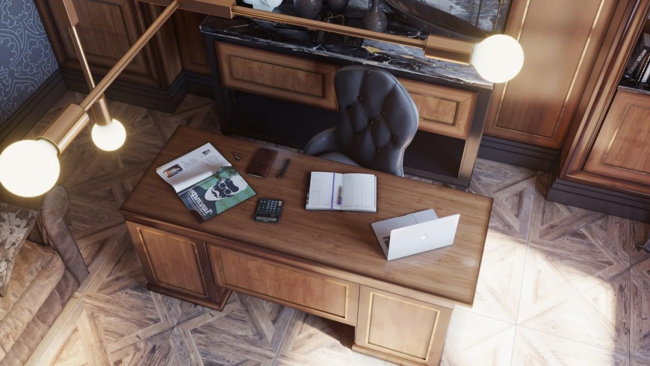 дизайн проект интерьера комнаты в частном доме от Lavrov Design