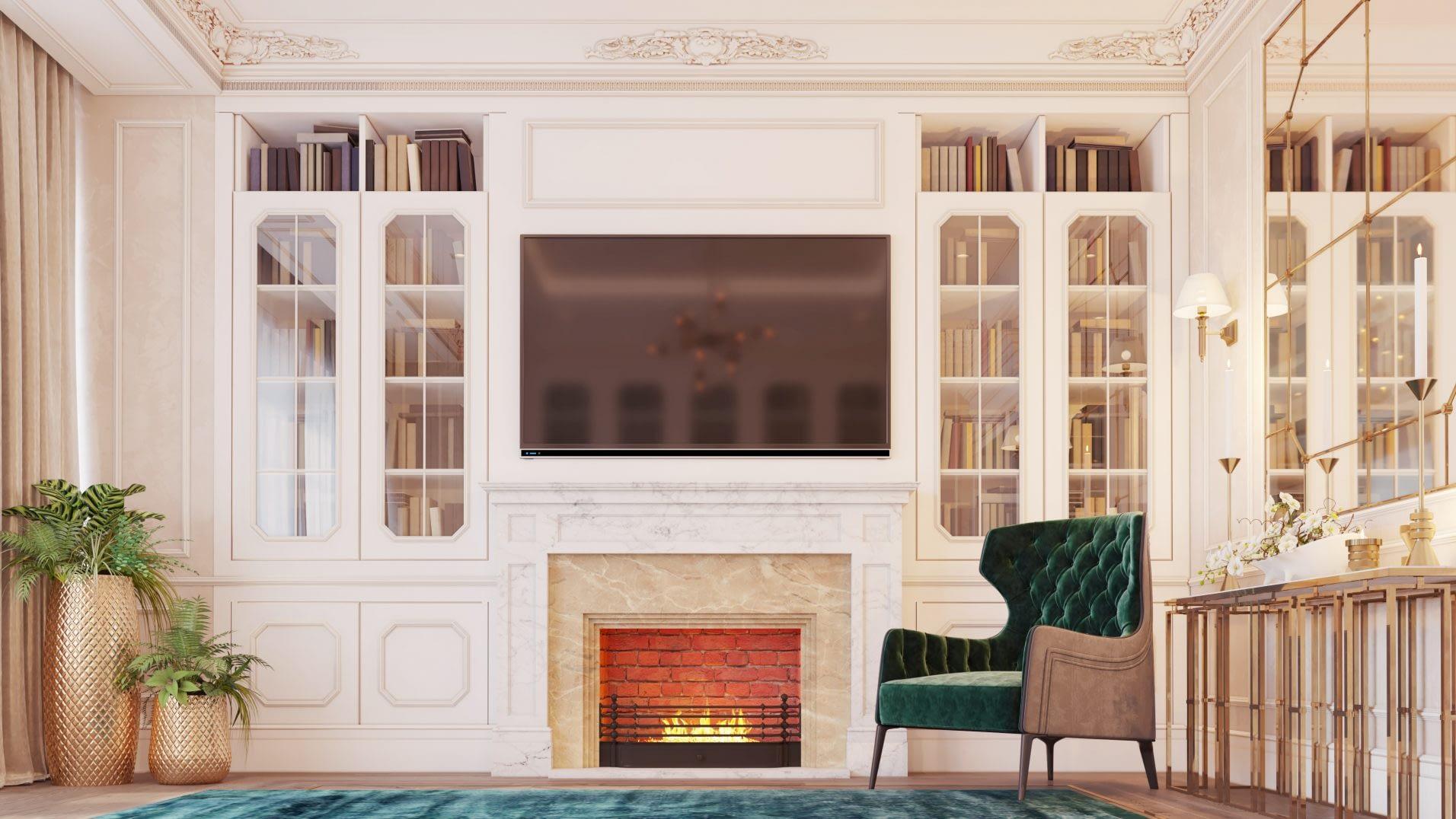 дизайн проект интерьера в частном доме от Lavrov Design