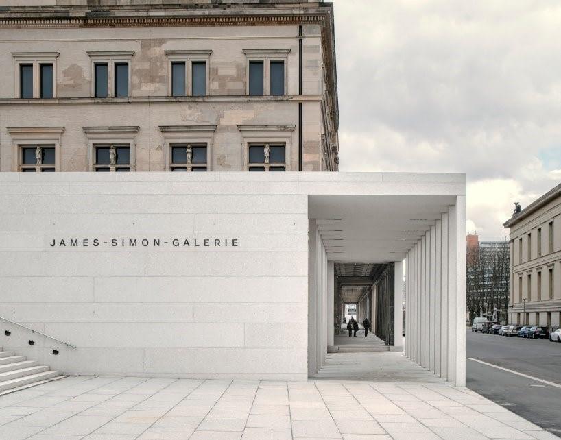 галерея Джеймса Симона по проекту Дэвида Чипперфильда